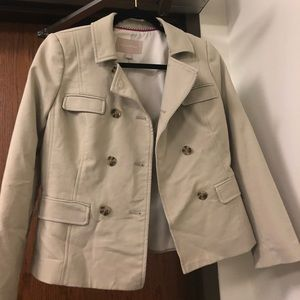 Clean out🔥! Banana republic beige blazer NWOT